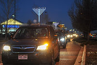 Chanukah parade Stapleton