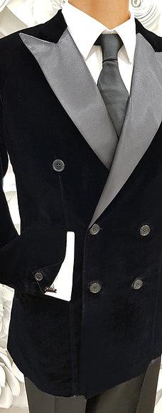 Completo in velluto b-stretch - Pret a porter