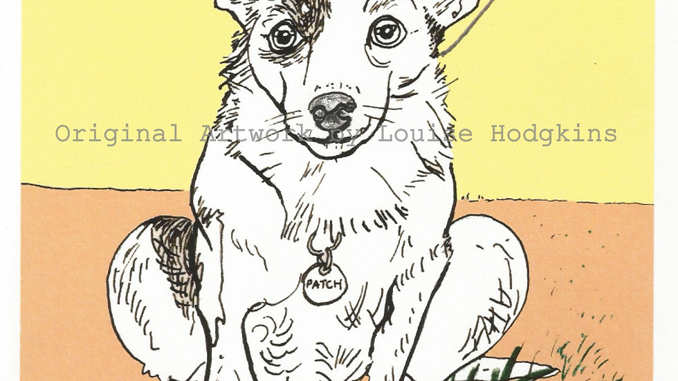 Patch - dog breeds collection: Jack Russell - Mounted quality print