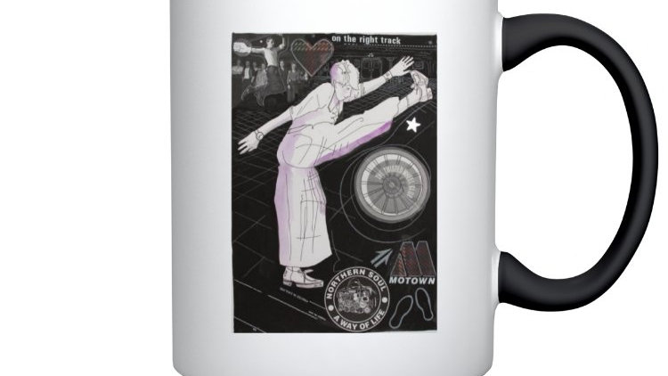 On the right track - Northern Soul ceramic mug