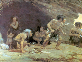 Cavemen Activities and Fireworks