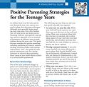 Positive Parenting Strategies for Terens