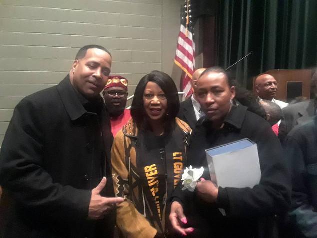 Mark, Joi & Lt. Governor Oliver