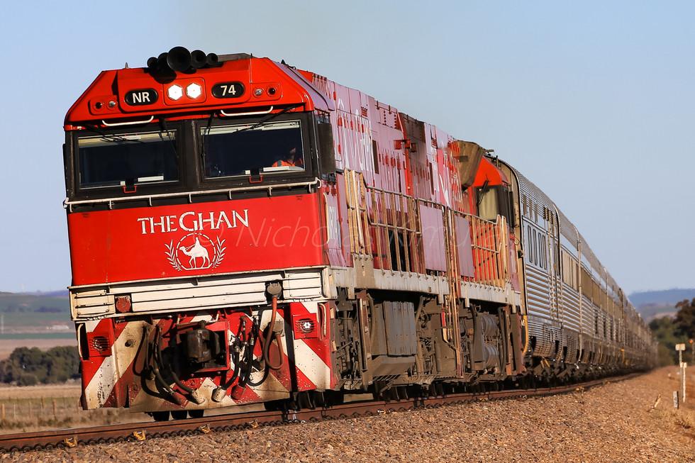 The Ghan, SA