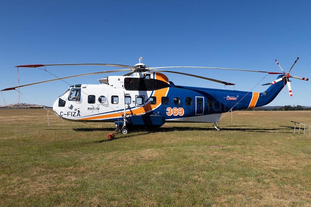 Paton Helicopters Sikorsky S-61N C-FIZA at Ballarat Aerodrome