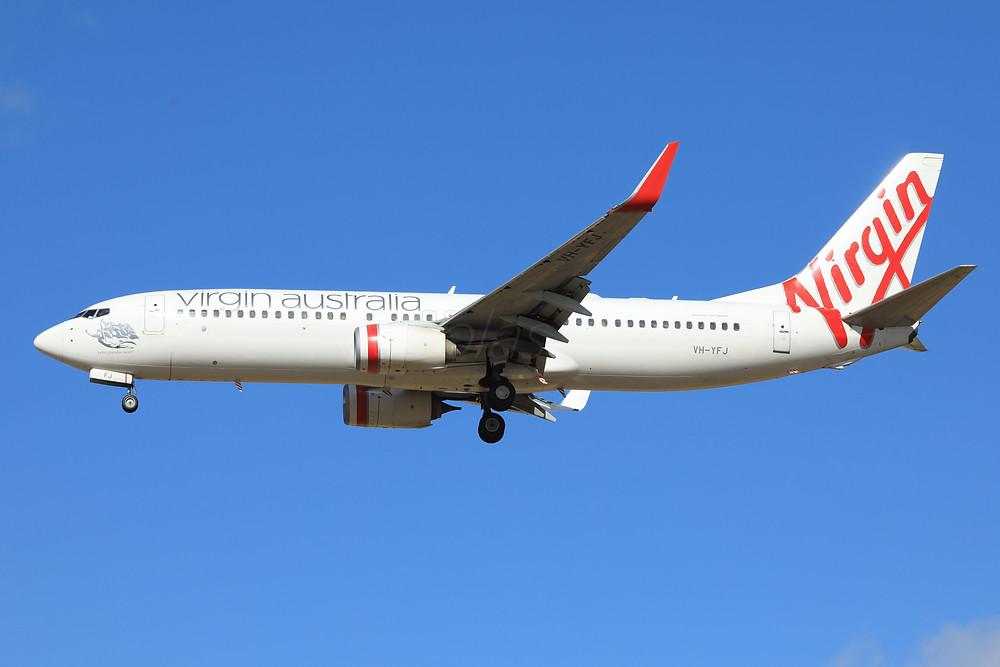 Virgin Australia B738 VH-YFJ
