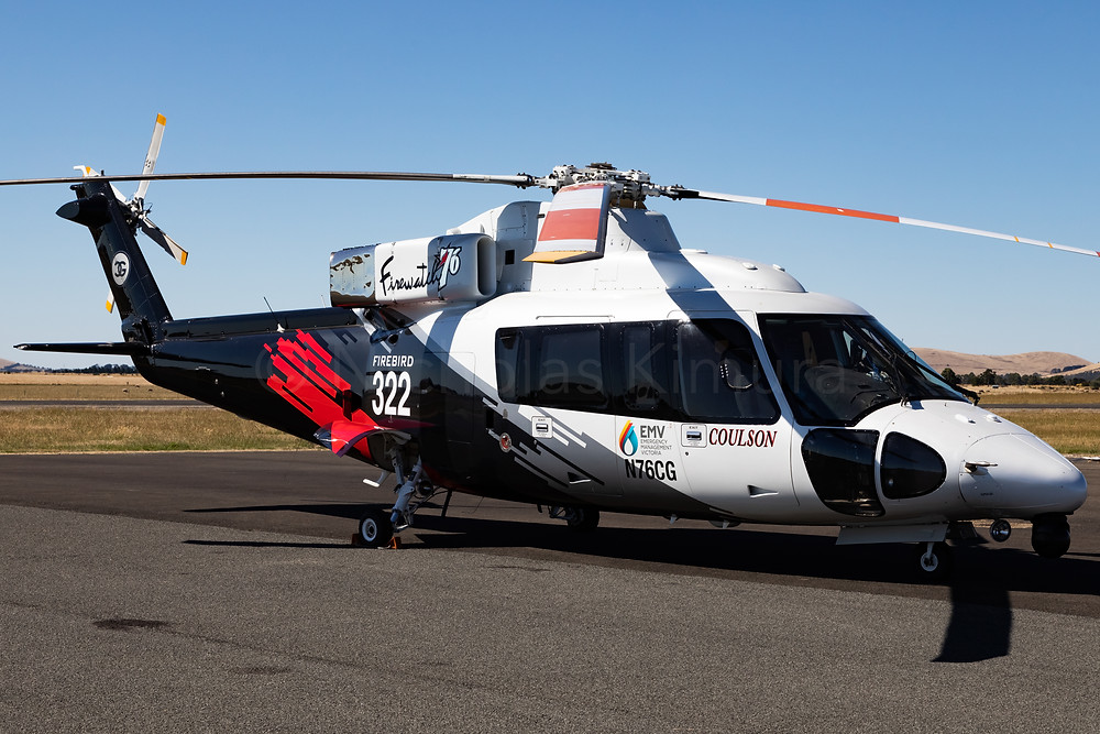 Coulson Aviation Sikorsky S-76B Spirit N76CG at Ballarat Aerodrome