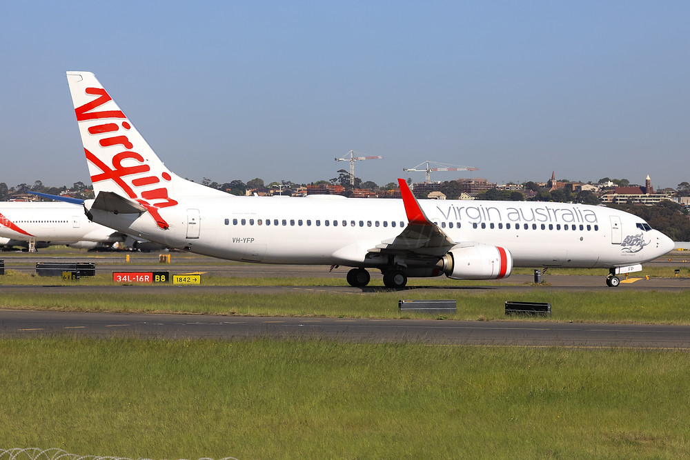 Virgin Australia B738 VH-YFP