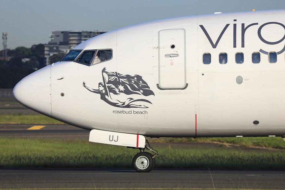 Virgin Australia B738 VH-VUJ