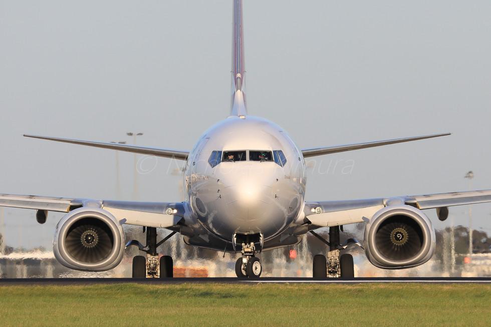 Qantas B737