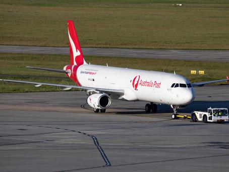 カンタスの世界初A321F、訓練開始 (VH-ULD)