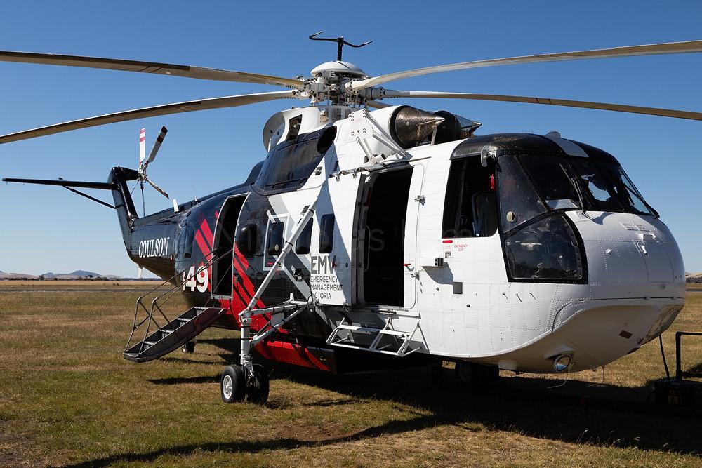 Coulson Aviation Sikorsky S-61N N261CG at Ballarat Aerodrome