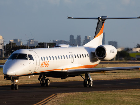Former JetGo Jet to be Based at Essendon