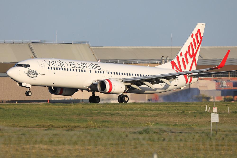Virgin Australia B738 VH-VUV