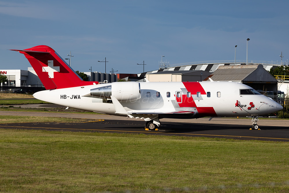 Swiss Air-Ambulance VL60 HB-JWA