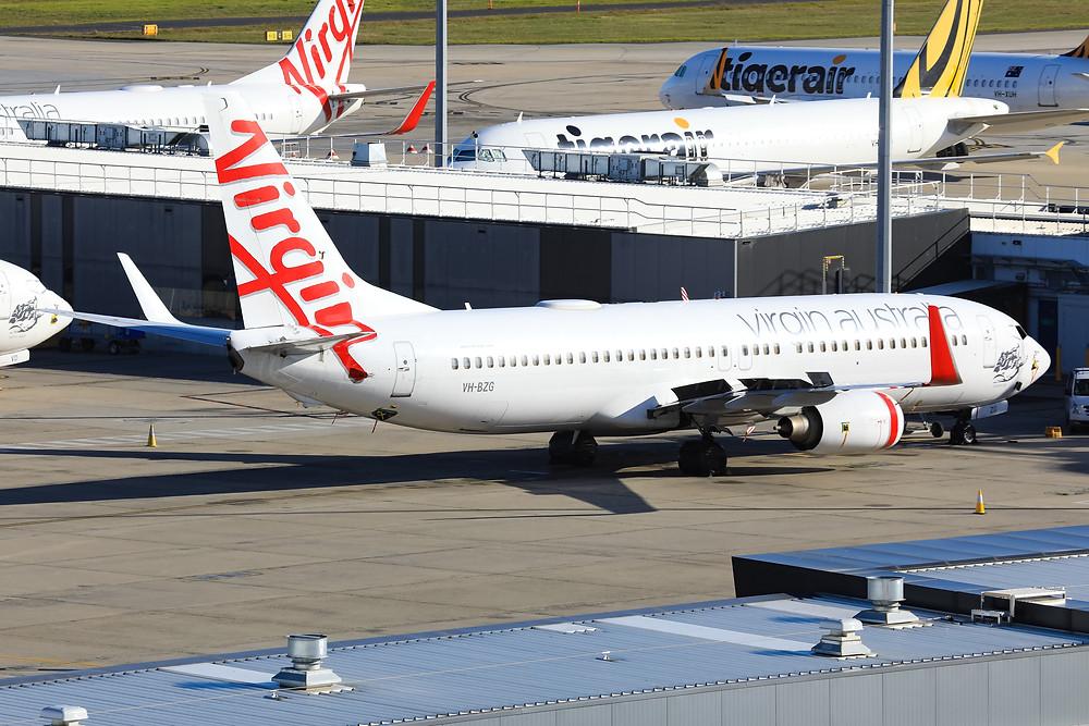 Virgin Australia B738 VH-BZG