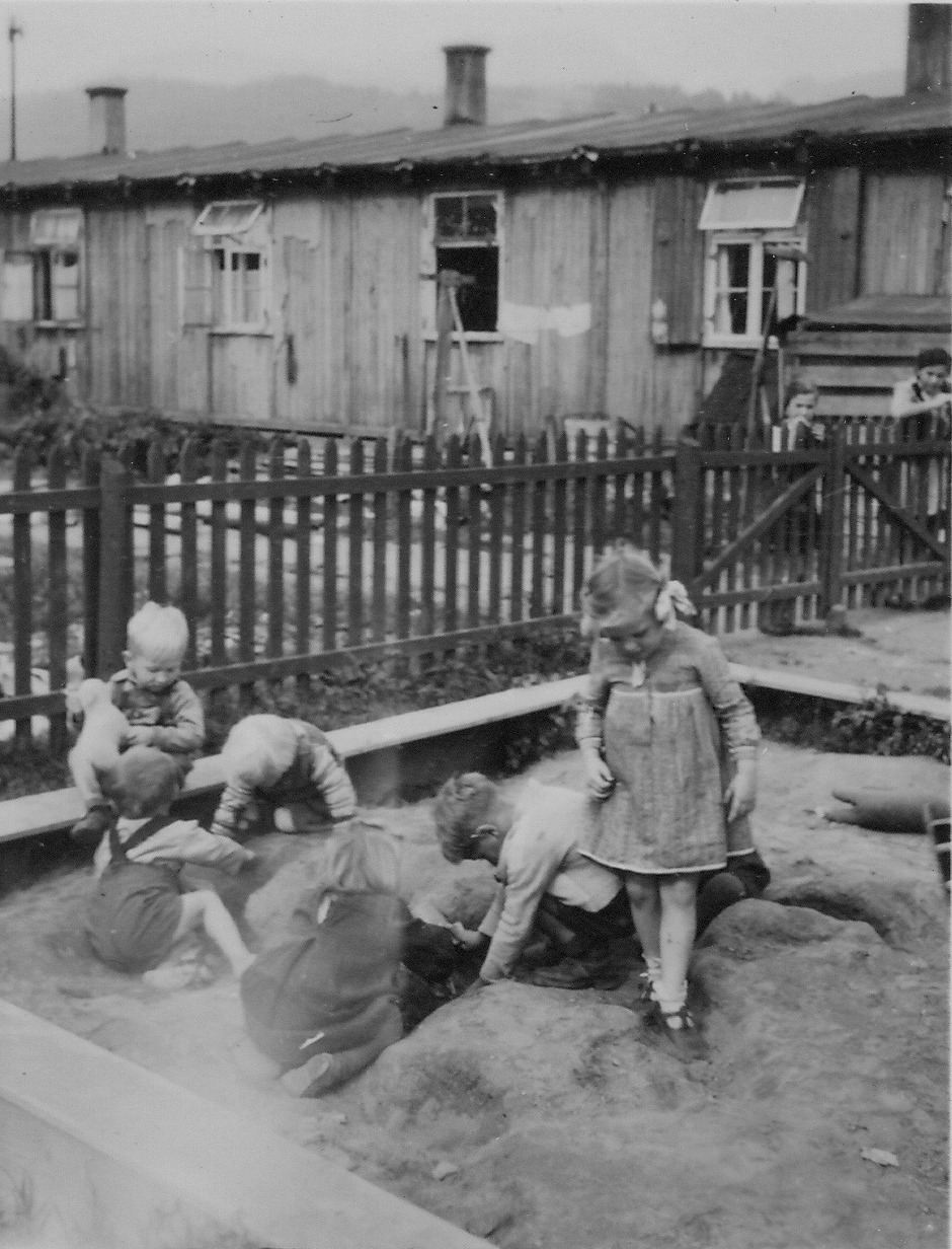 Kapfengerg camp. The new sandpit 1949