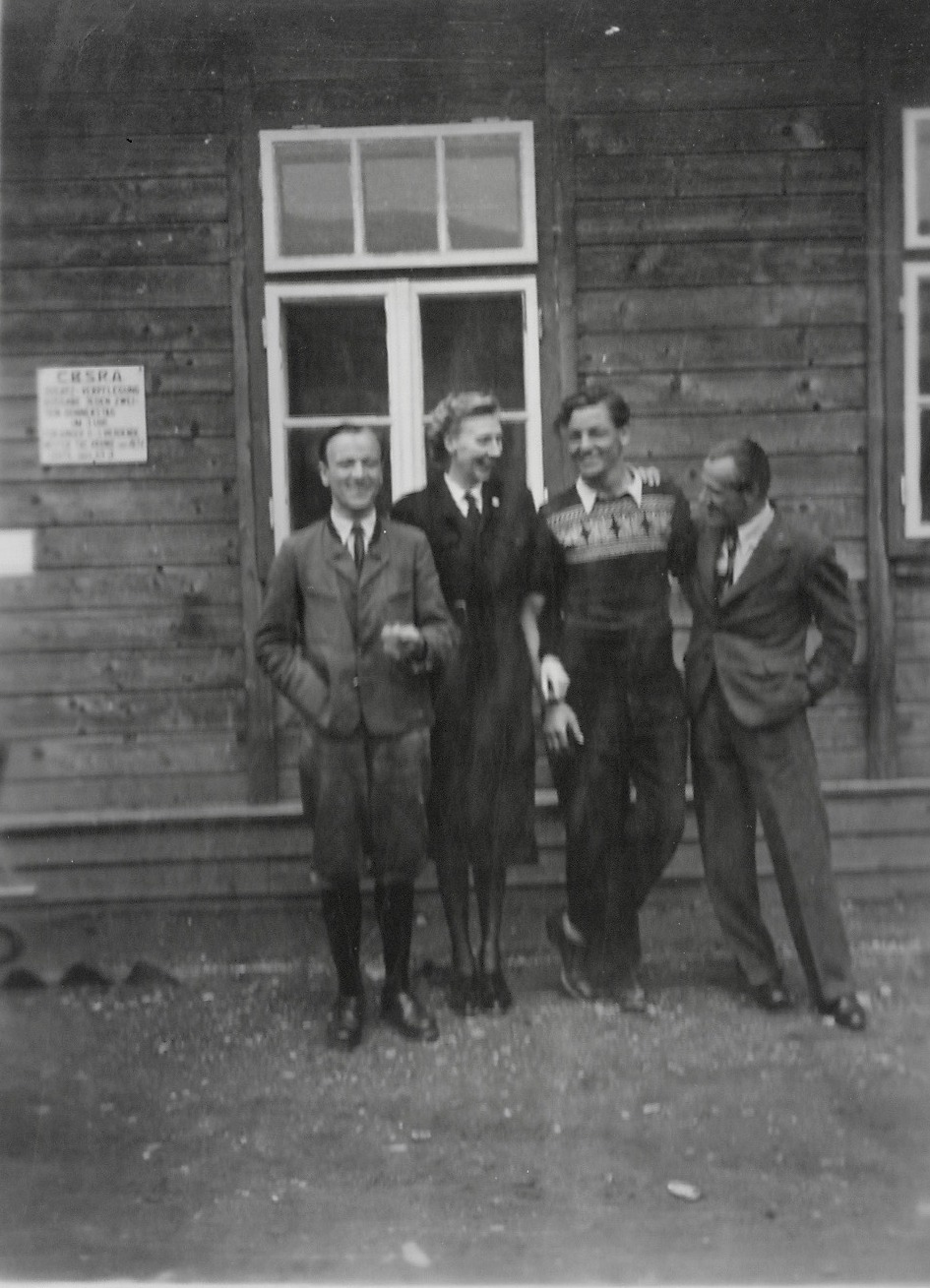 Kaphenberg camp 'the bosses of camp 2' 1949