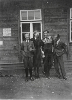 Kaphenberg camp 'the bosses of camp 2' 1949
