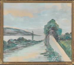 Painting Trieste Artist Nina Zbandactou 1951