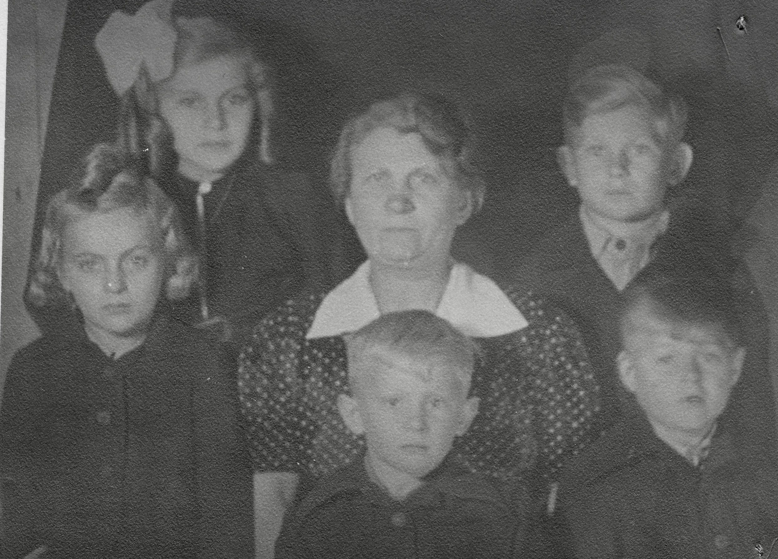 Eisenerz Displaced Persons Camp, Refuge family 1948