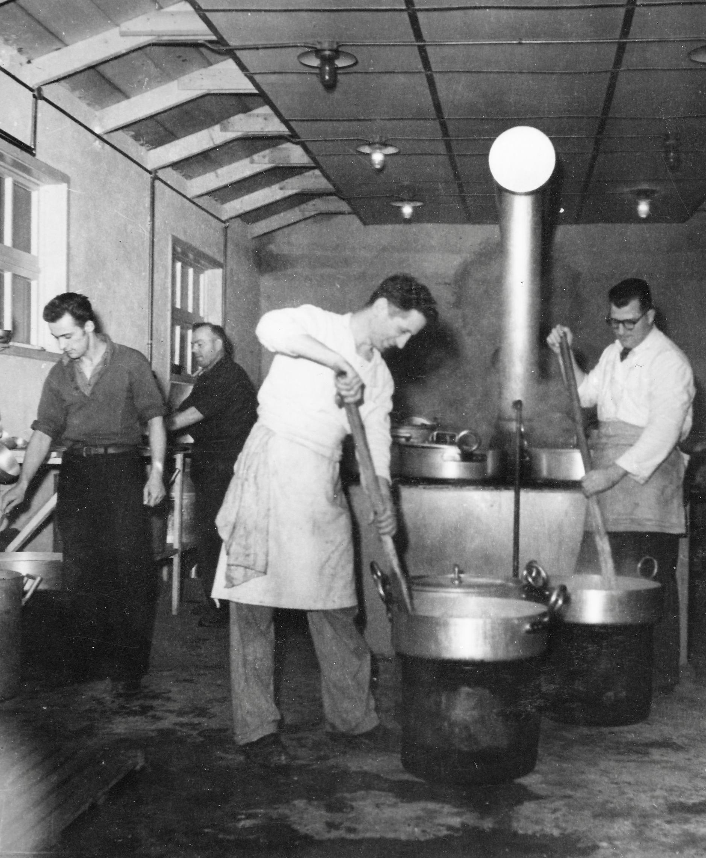 San Sabba Annex camp kitchen 1950-51