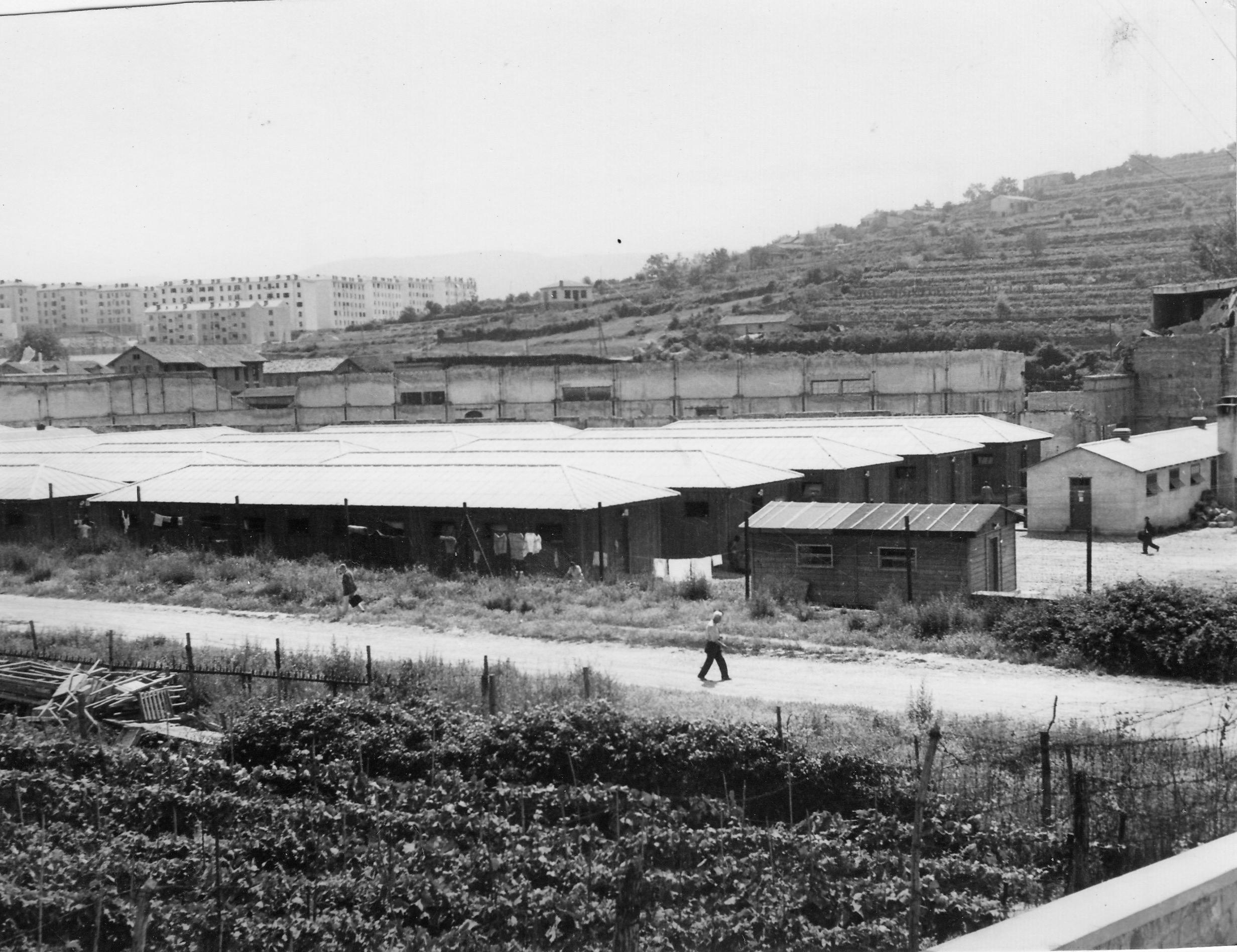 San Sabba Annex 30 new barracks 1950