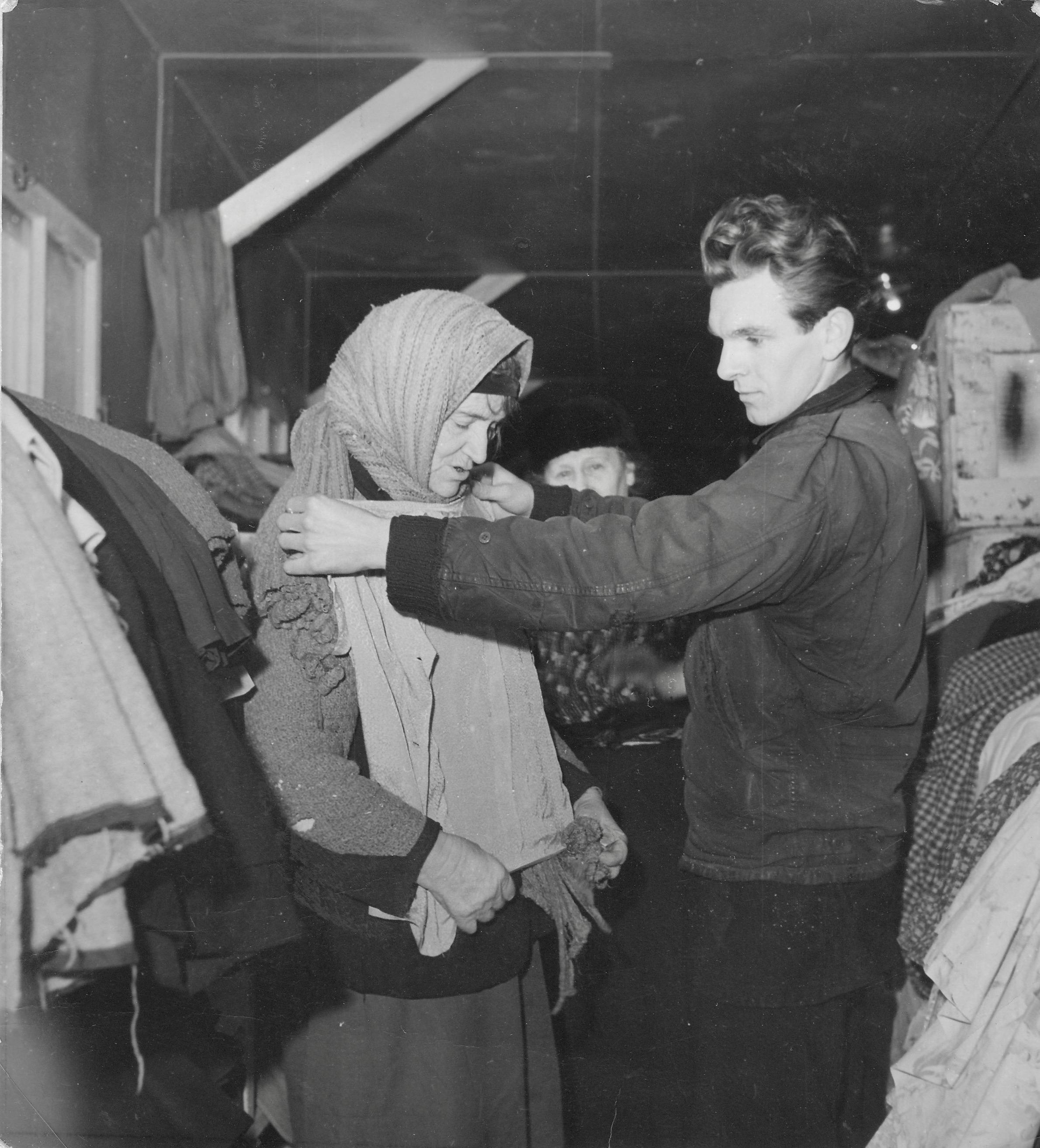 San Sabba clothing distribution 1950-51