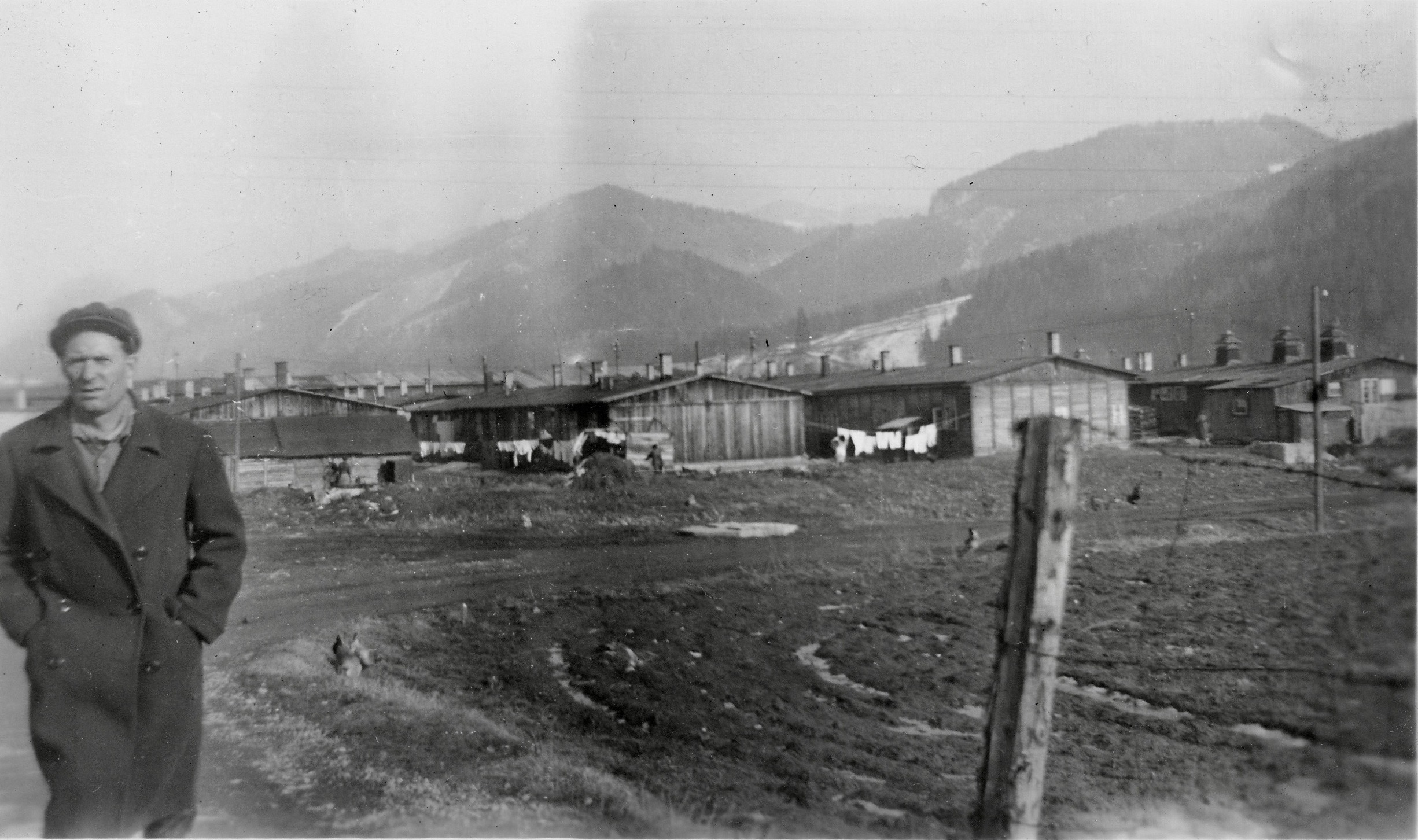 Kapfenberg camp 2 1949