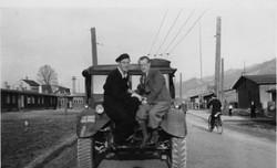 Kapfenberg Displaced Persons Camp, Camp 2 Fritz & Alois Winter April 1949