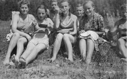 Waiern Summer Camp 2nd group of girls Sept. 1949