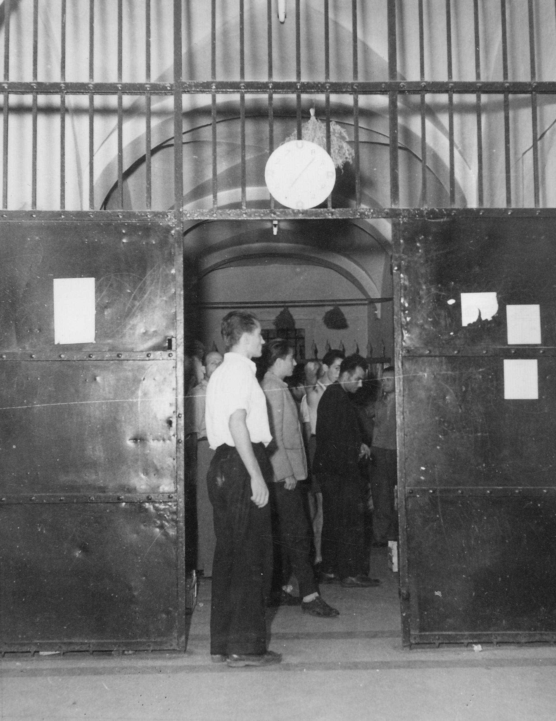 Gesuiti camp entrance 1950-51
