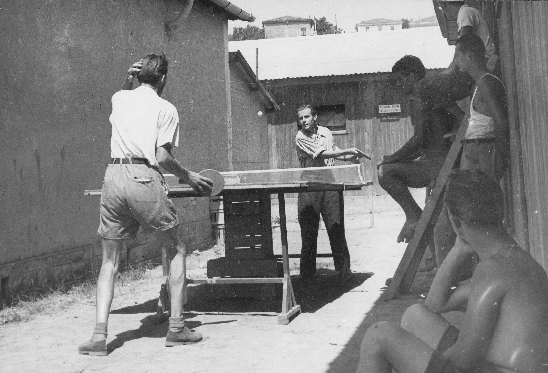 San Sabba, table tennis 1950-51