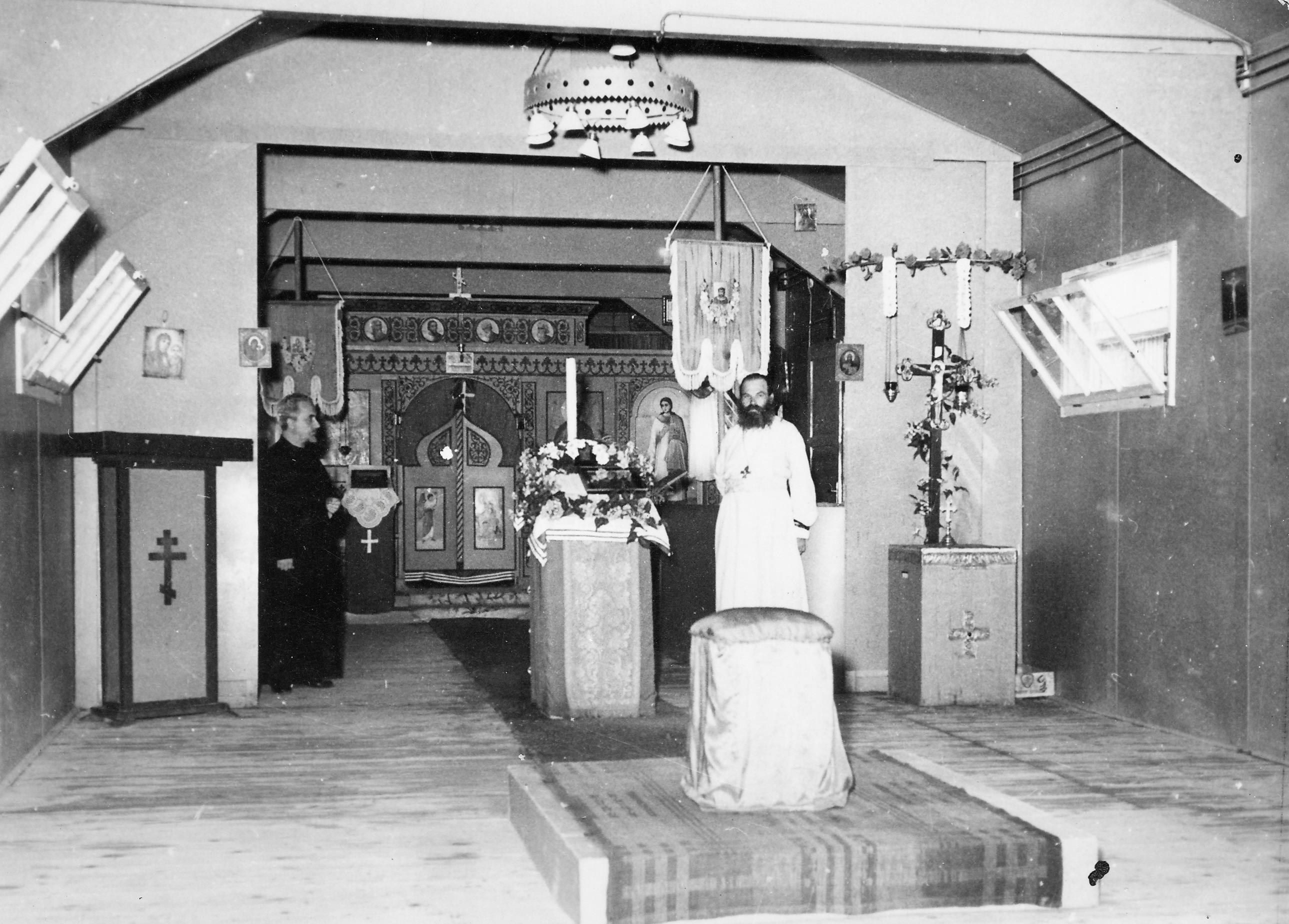 San Sabba church Easter 1951