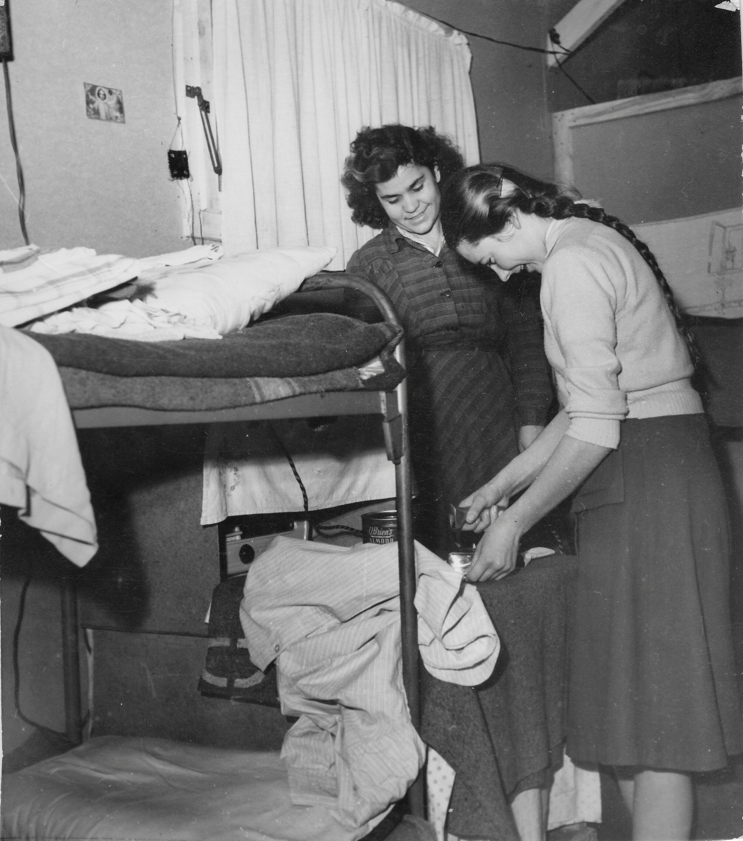 San Sabba camp barracks cubicles 1950-51