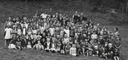 Waiern Summer Camp 2nd group of children Sept.1949