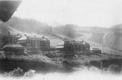 Eisenerz camp, view from Kinderheim 1948