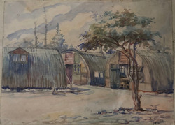 Opincina DP Camp, Artist, Konstantin Elliott 1950