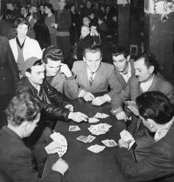 San Sabba main camp, playing cards 1951-52
