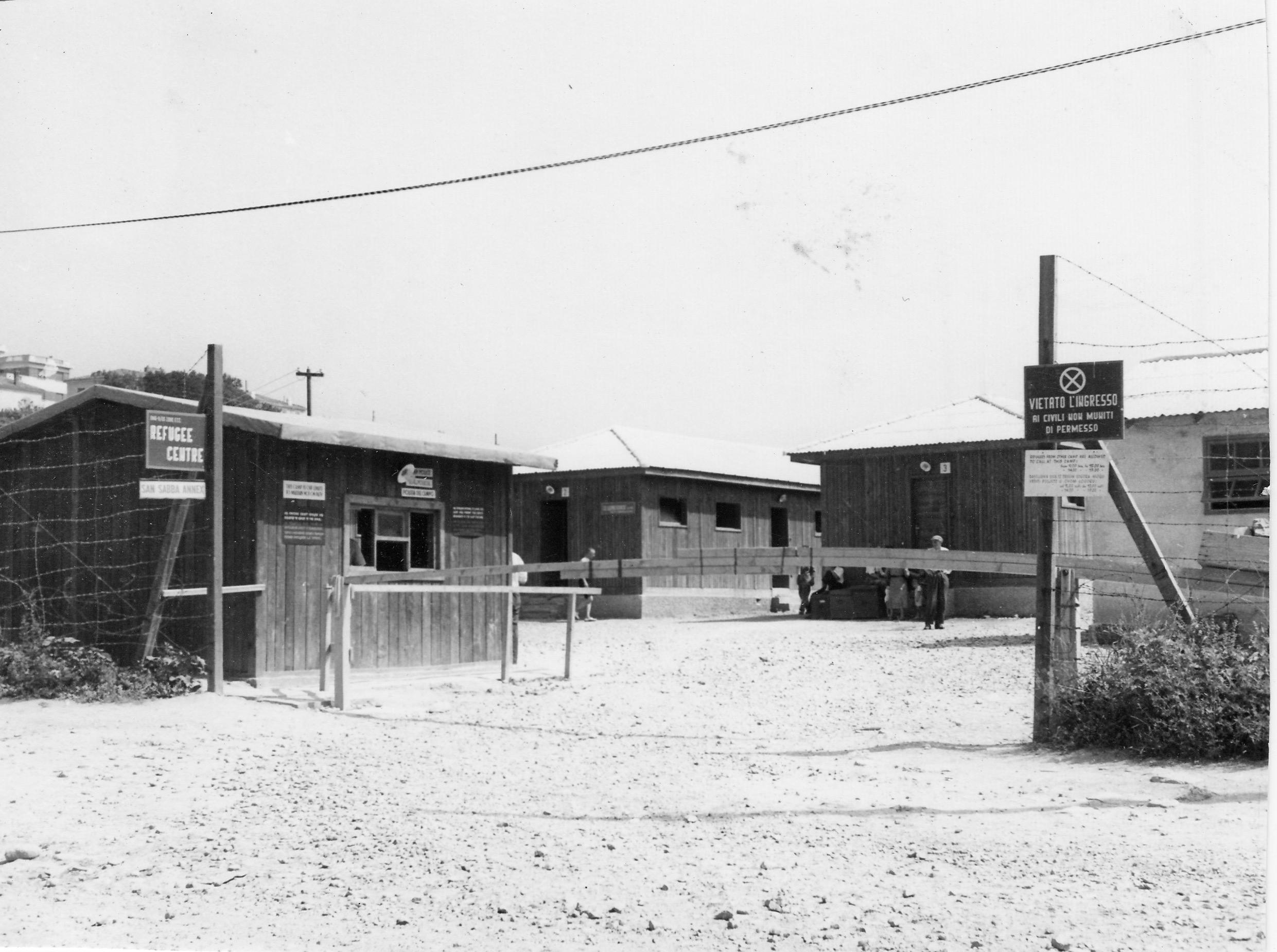 San Sabba Annex Camp, police hut 1950