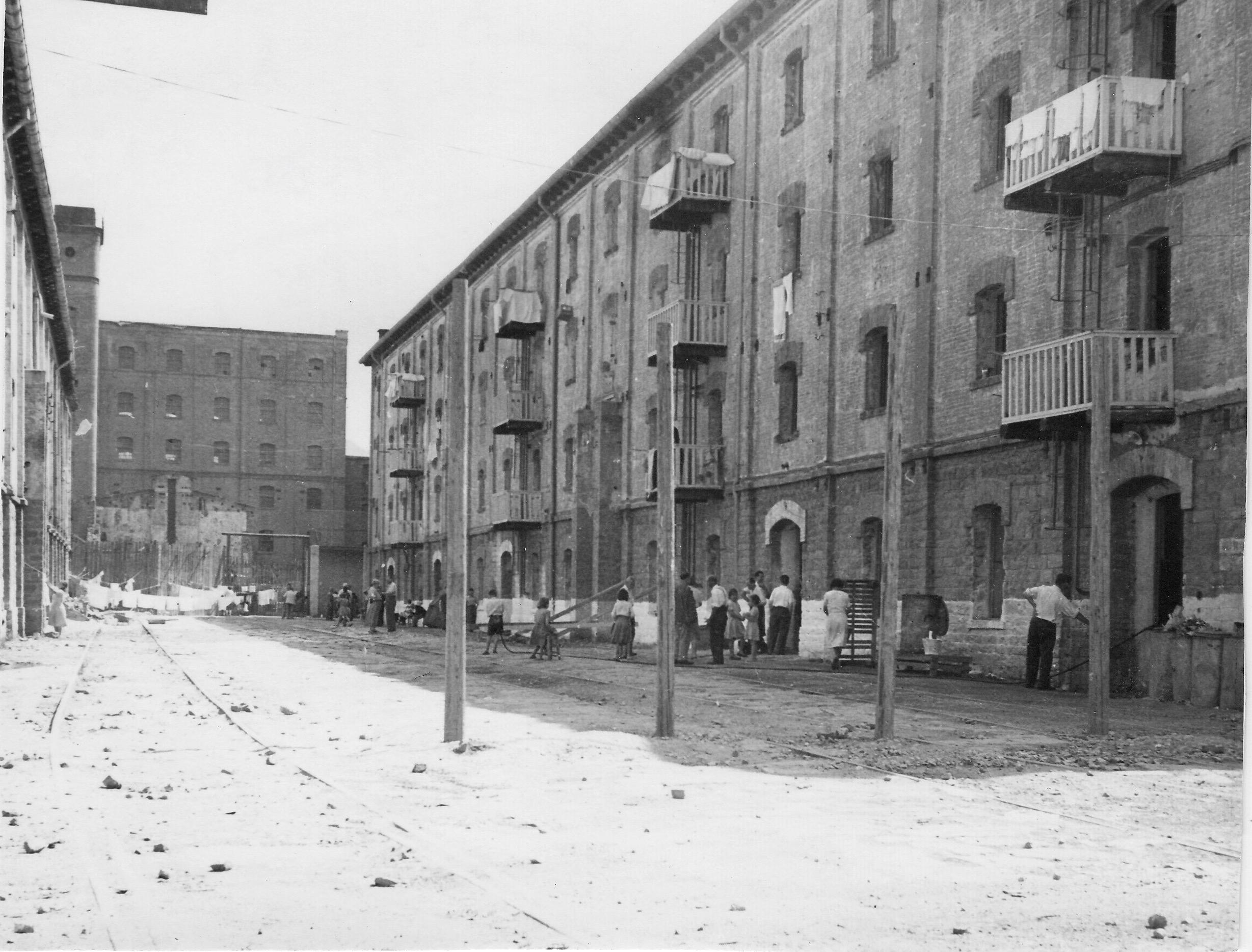 San Sabba main camp 3 stories, 500 people on each floor 1950-51