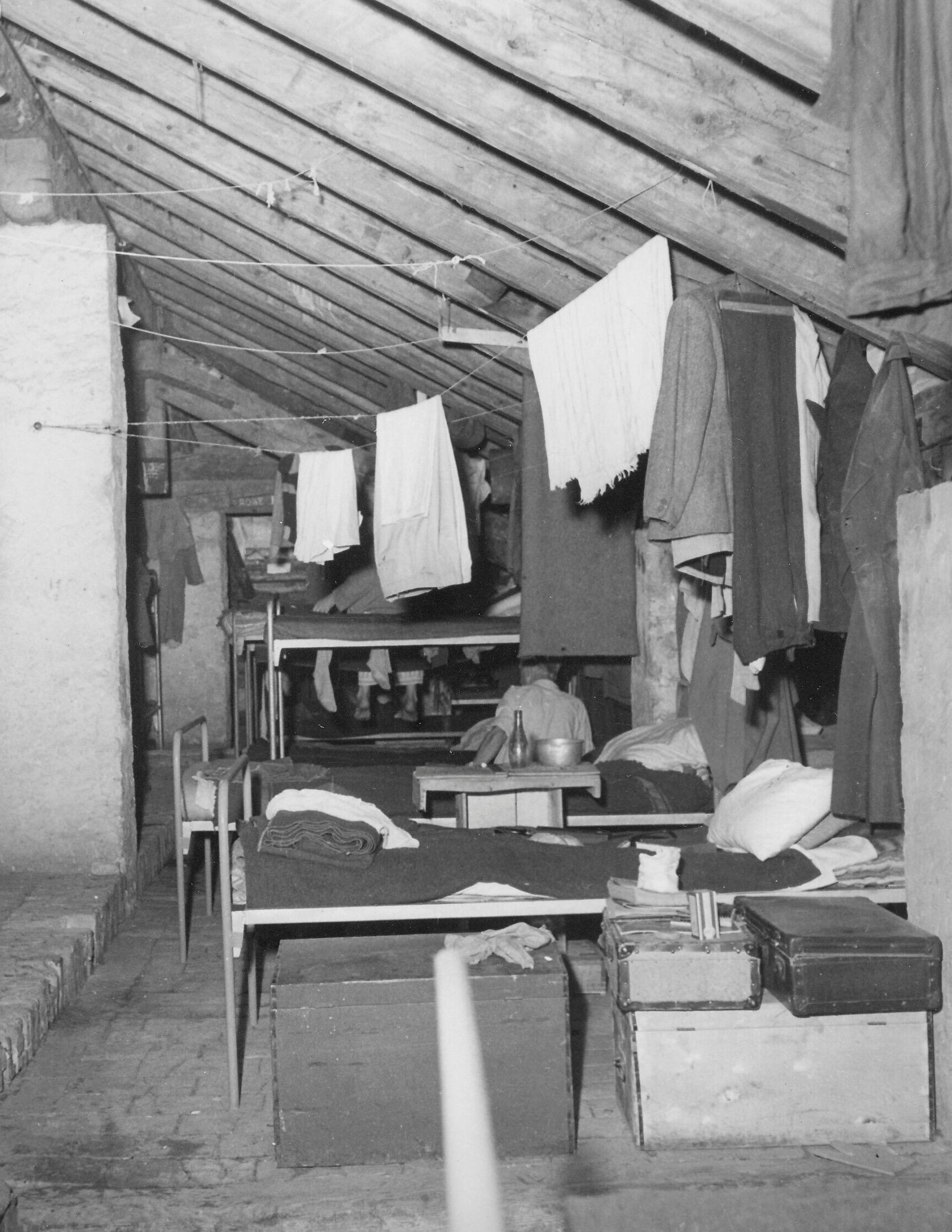 Gesuiti camp, attics 1950-1951