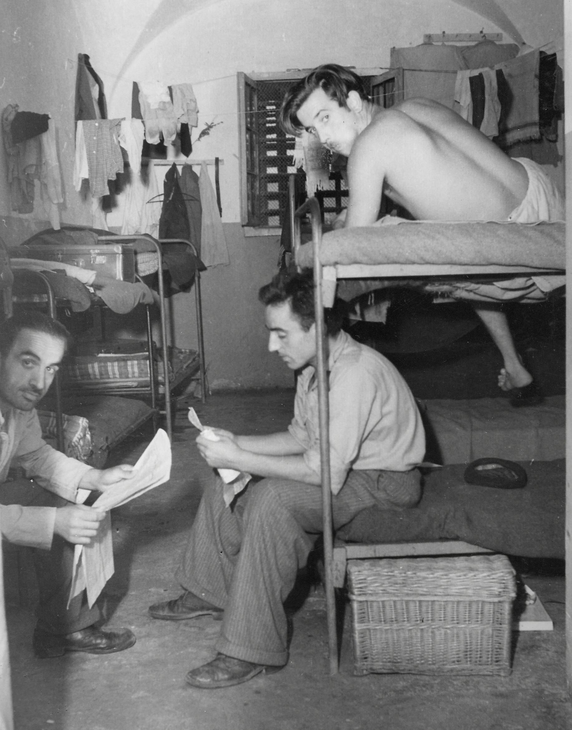 Gesuiti camp, living in the cells 1950-51