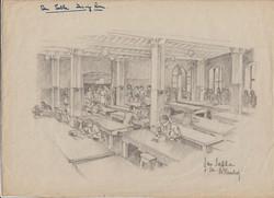 San Sabba Dining room Artist, B.Krutiev 1950