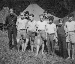 Waiern Summer Camp, group of boys from Spittal Sept. 1949