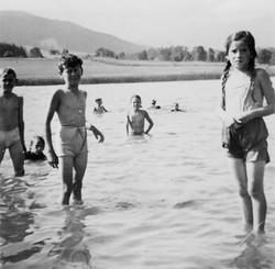 Waiern Summer Camp, Day at Flatchacher Teig Sept. 1949