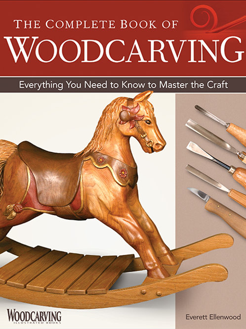 The Complete Book of Woodcarving (New Cover)