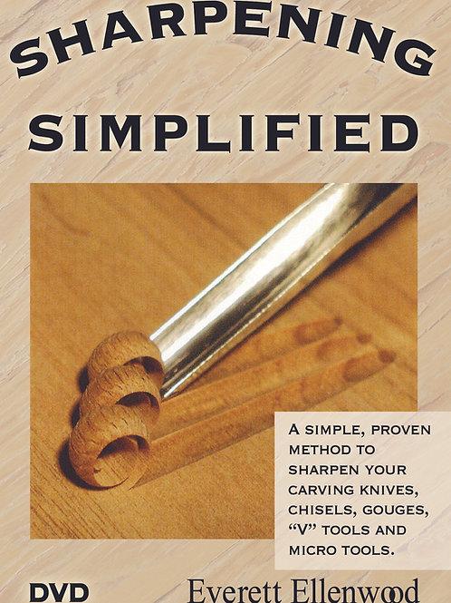 Sharpening Simplified DVD