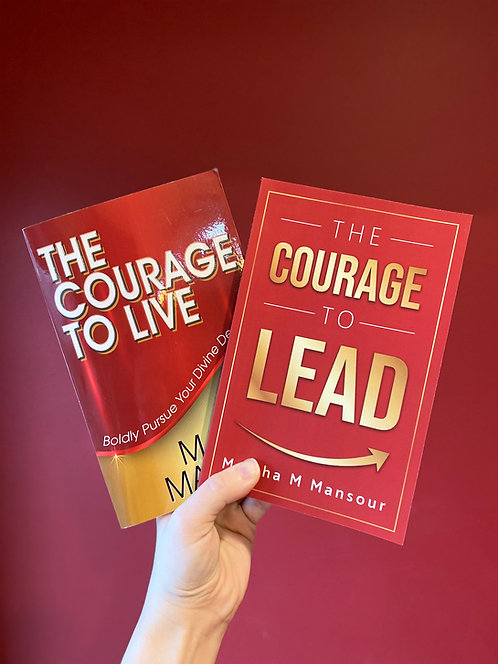 The Courage To Live + The Courage To Lead