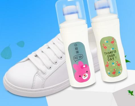Chai dung dịch vệ sinh giày dép